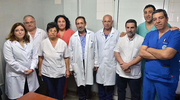 ¡Hay equipo! Realizan una cirugía inédita en el hospital Avellaneda