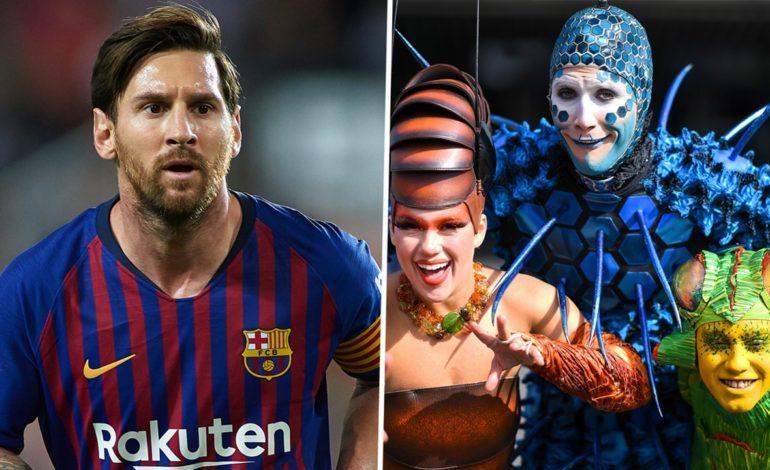 Messi inspirará un nuevo espectáculo del Cirque du Soleil