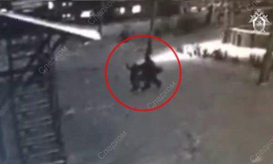 Así, nena se salvó de ser violada en plena calle