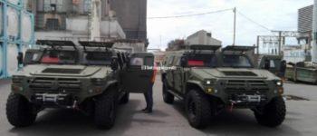 G20: China donó una flota de camionetas blindadas, motos y scanners para el GEOF y la PFA
