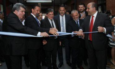 Inauguran la ampliación del edificio del Centro Judicial Monteros