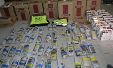 Secuestran 30 kilos de coca y cigarrillos que provenía de Oran