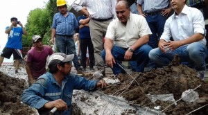 Reemplazan cañerías de agua en Villa Santillán