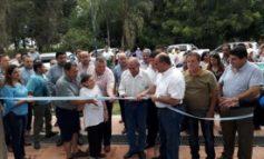 Manzur inauguró obras en Las Talas