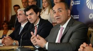 Manzur y Urtubey exhortaron modificar el rumbo de la economía