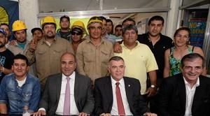 El Gobernador se reunió con los trabajadores de Uocra