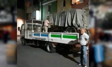 Por qué se llevaron el carrito colonial de la plaza de los Congresales