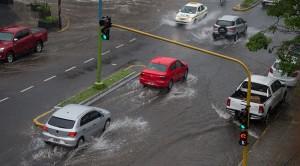 Las tormentas provocaron anegamientos y fallas en el servicio eléctrico