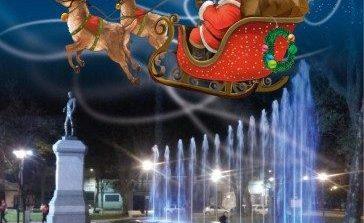 Papa Noel recibirá las cartas de los niños en plaza Belgrano