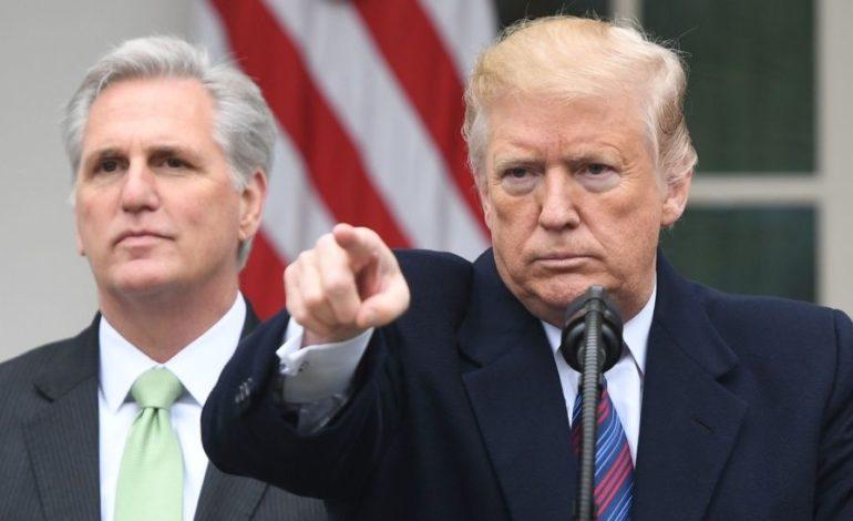 Trump asegura que va a construir el muro