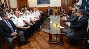 Manzur recibió al área de Seguridad para evaluar el Operativo Verano
