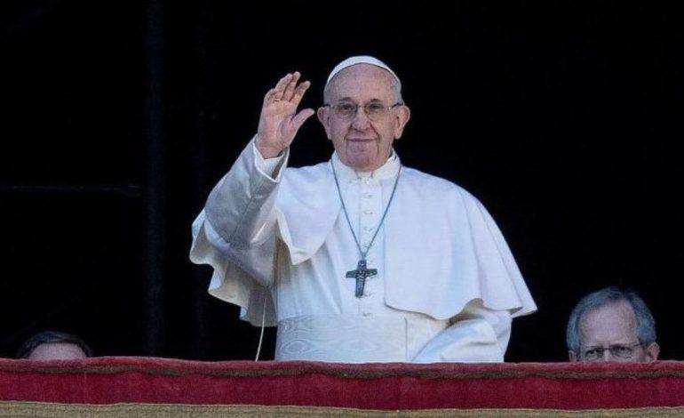 Francisco habló sobre la «grave situación» en Venezuela