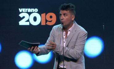 Miguel Martín ganó dos premios Vos y contagió su humor en la ceremonia