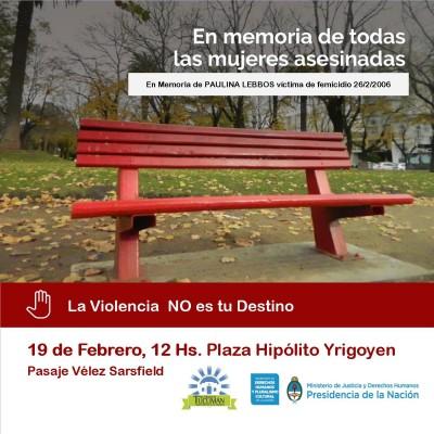 Un homenaje a Paulina Lebbos en la campaña «Banco Rojo»