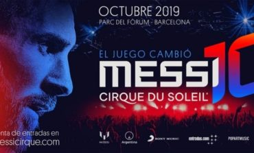 El espectáculo de Lionel Messi del Cirque du Soleil rompe récord de ventas