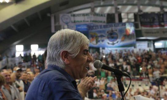 """Moyano: """"Este gobierno es una pesadilla para los trabajadores"""""""
