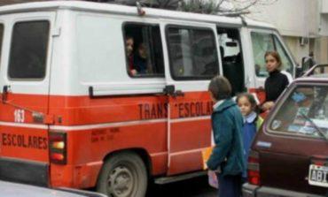 Anuncian un aumento del 30% en el servicio de transporte escolar