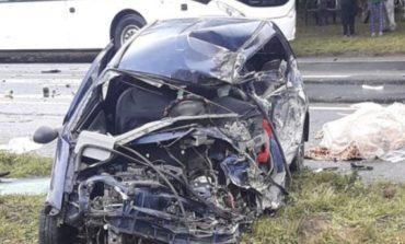 Choque mortal: Un camión y un auto colisionaron en la ruta 38