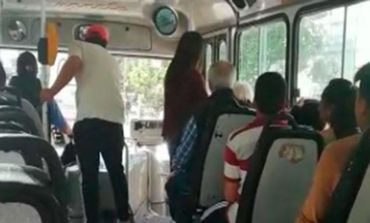 Subieron como pasajeros y robaron en un colectivo