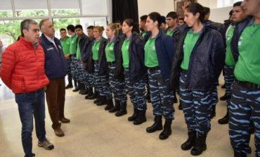 """Presentaron a los hombres y mujeres de la """"policía municipal"""""""
