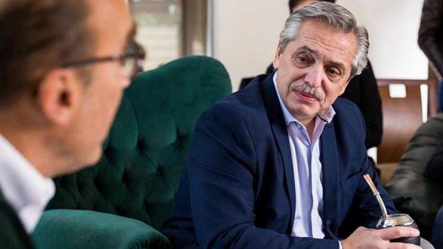 Alberto Fernández desmintió a un periodista macrista que alertó sobre su estado de salud