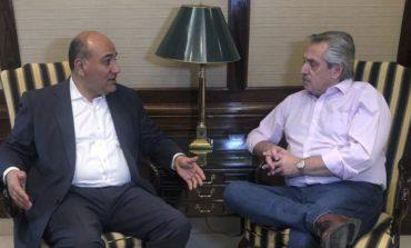 Manzur visitó a Alberto Fernández en el sanatorio Otamendi y se mostraron juntos en un video