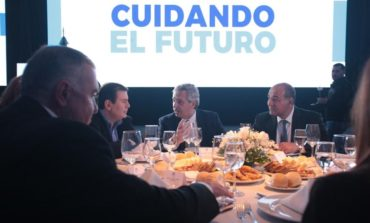 La visita de Alberto Fernández cerró con una cena para empresarios y académicos