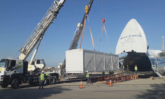 El avión Antonov llegó a Tucumán con importante maquinaria
