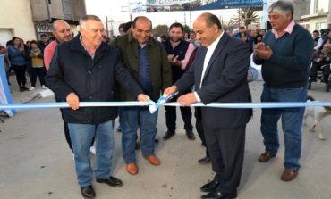 Manzur y Jaldo inauguraron obras de urbanización en Trancas