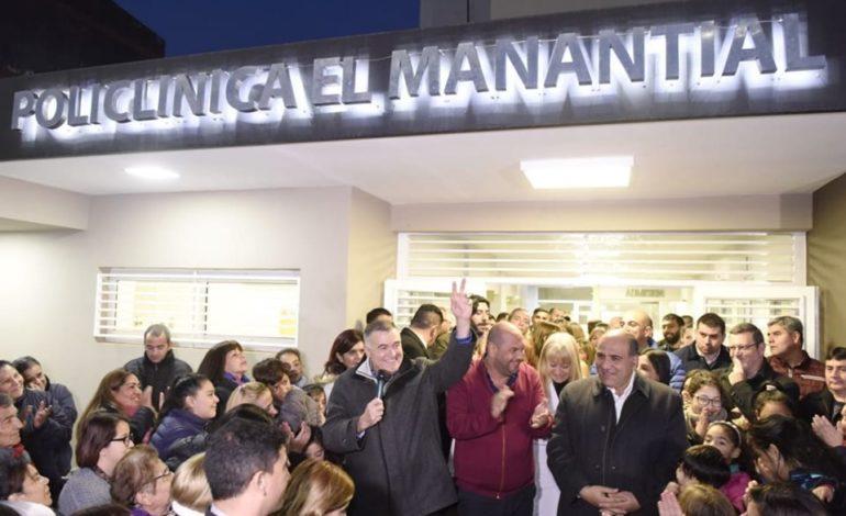 Inauguraron la moderna Policlínica de El Manantial