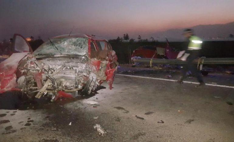Trágico choque en una recta de la nueva ruta 38: cuatro personas fallecieron