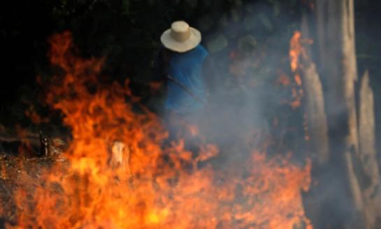 El fuego en el Amazonas podría afectar el abastecimiento del agua hasta la cuenca del Plata