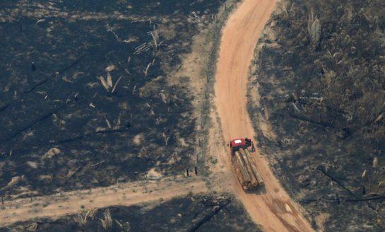 Bolsonaro dio por superada la crisis por los incendios en la Amazonia