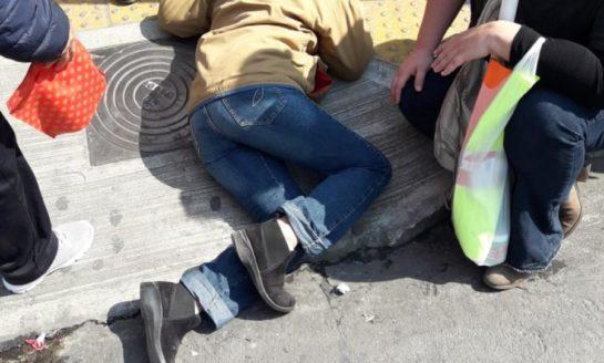 Una rampa céntrica se convirtió en una trampa para los peatones