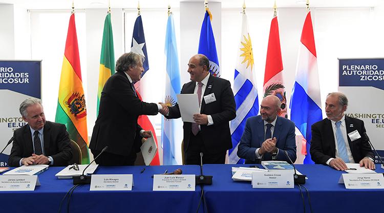 Zicosur: Los ocho puntos del histórico acuerdo de cooperación que impulsó Manzur