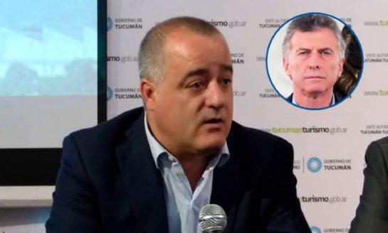 """El intendente Noguera le respondió a Macri, quien lo trató de """"remolón"""""""