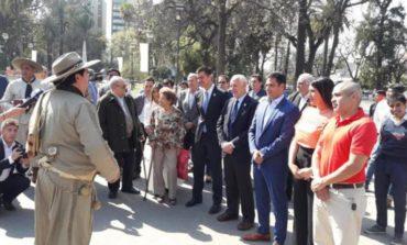 Campaña austera: Lavagna y Urtubey visitaron la provincia