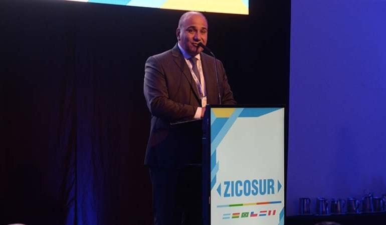 Manzur encabeza en EEUU la misión oficial del Zicosur