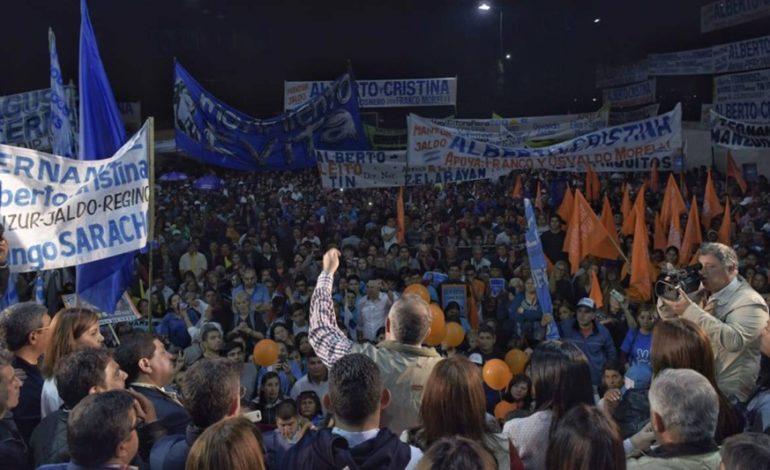 Multitudinario acto peronista en Concepción