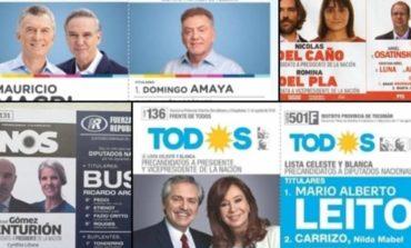 Elecciones: Qué boletas vas a encontrar el domingo