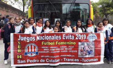 735 ilusiones tucumanas participan de los Juegos Nacionales Evita