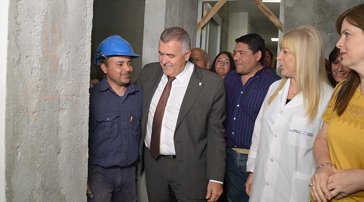Invierten recursos en el hospital de Simoca