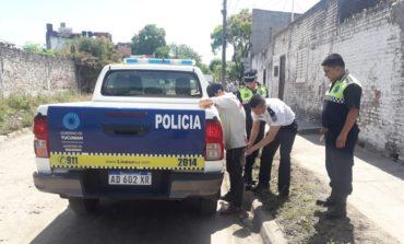 Atraparon a un delincuente que paseaba por Villa Alem