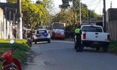 Trágico accidente: Un chofer de la línea 103 murió aplastado por un colectivo