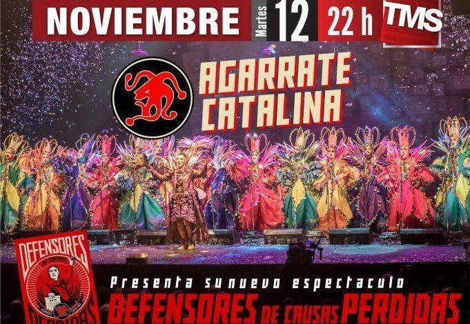 La magia de la murga uruguaya llega a Tucumán con «Agarrate Catalina»