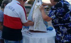 Vecinos de Yacuchina realizan la Ceremonia de Vestición de la Virgen Del Valle