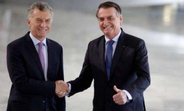 Macri y Bolsonaro se reúnen en el último viaje como presidente argentino