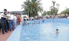 Recuperan el natatorio de Villa Quinteros