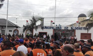 60 Vigias de Alderetes recuperan sus puestos de trabajo luego de la intervención del vicegobernador Osvaldo Jaldo