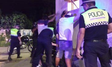Operativos del 911: Aprehenden a seis personas y secuestran diez motos
